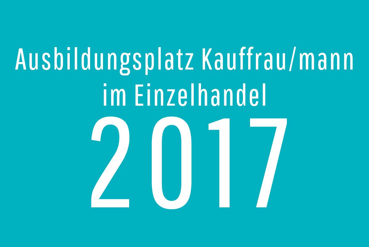 Ausbildungsplatz für 2017