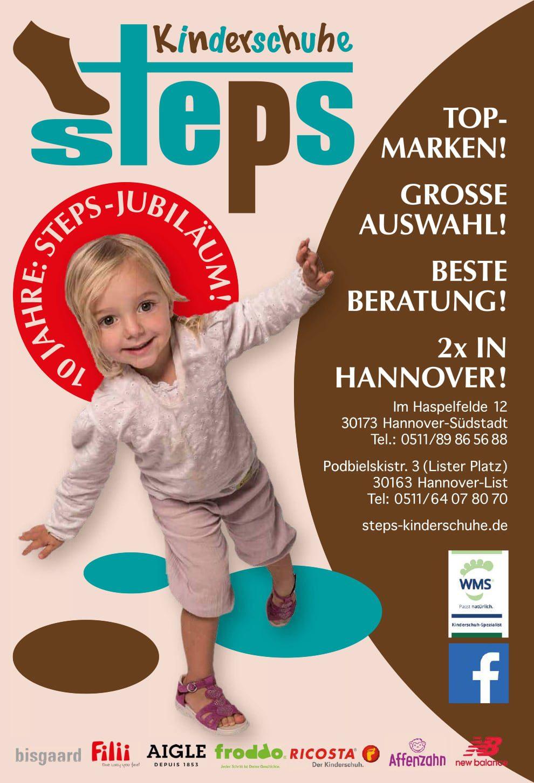 10 Jahre STEPS Kinderschuhe