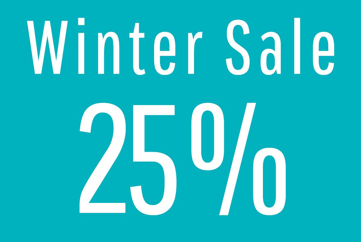 Winter Sale 25 %